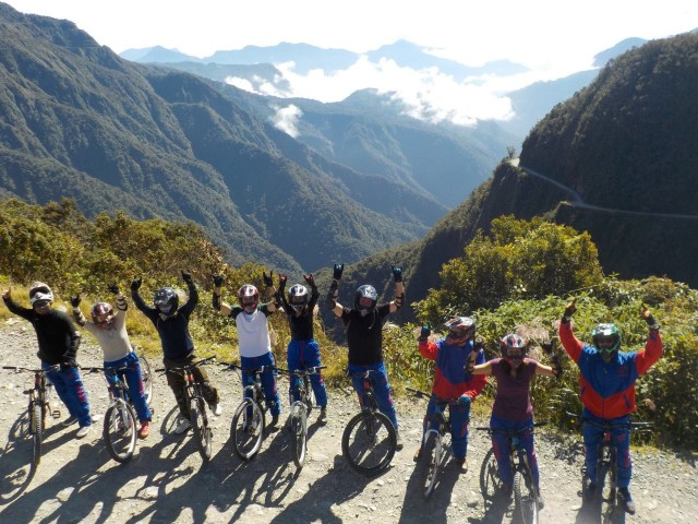 Death Road Bolivia - Einmal ist keinmal