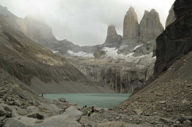 Torres del Paine - thank god it is low season