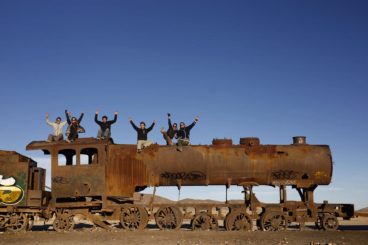 Uyuni - Train graveyard