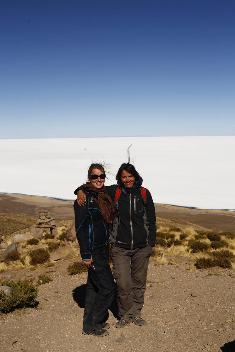 Uyuni - Ianca and Alex